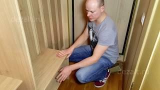 видео Шкаф купе в коридор: фото дизайна – встроенный, узкий, длинный шкаф купе в коридор