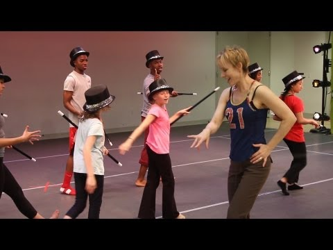 Pippin Stars Charlotte d'Amboise and Terrence Mann Train Students for Broadway With Triple Arts