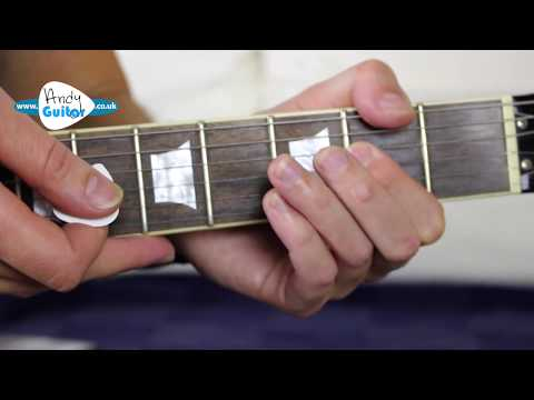 AC/DC Highway To Hell Guitar Lesson - How to play