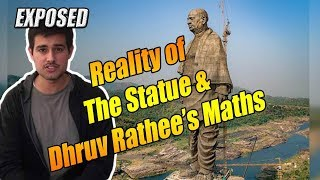 Statue of Unity- The Harsh Reality of Dhruv Rathee's Calculations | Aaj Ki Taza Khabar