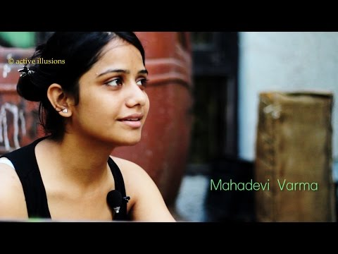 हिंदी कविता  : जो तुम आजाते एक बार :  Mahadevi Varma : Aarti Bhatt with Manish Gupta in Hindi Studio