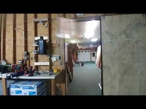DIY Pallet Wood Sliding Door