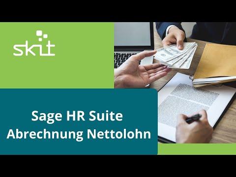 Sage HR Suite - Abrechnung Nettolohn