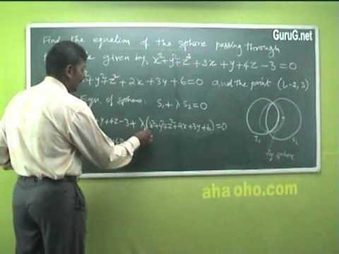 Unit-2 Three Dimensional Analytical Geometry (Example Problem) - Mathematics