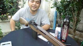 Repeat youtube video Review WE M14 Gas Blowback Thai Sound