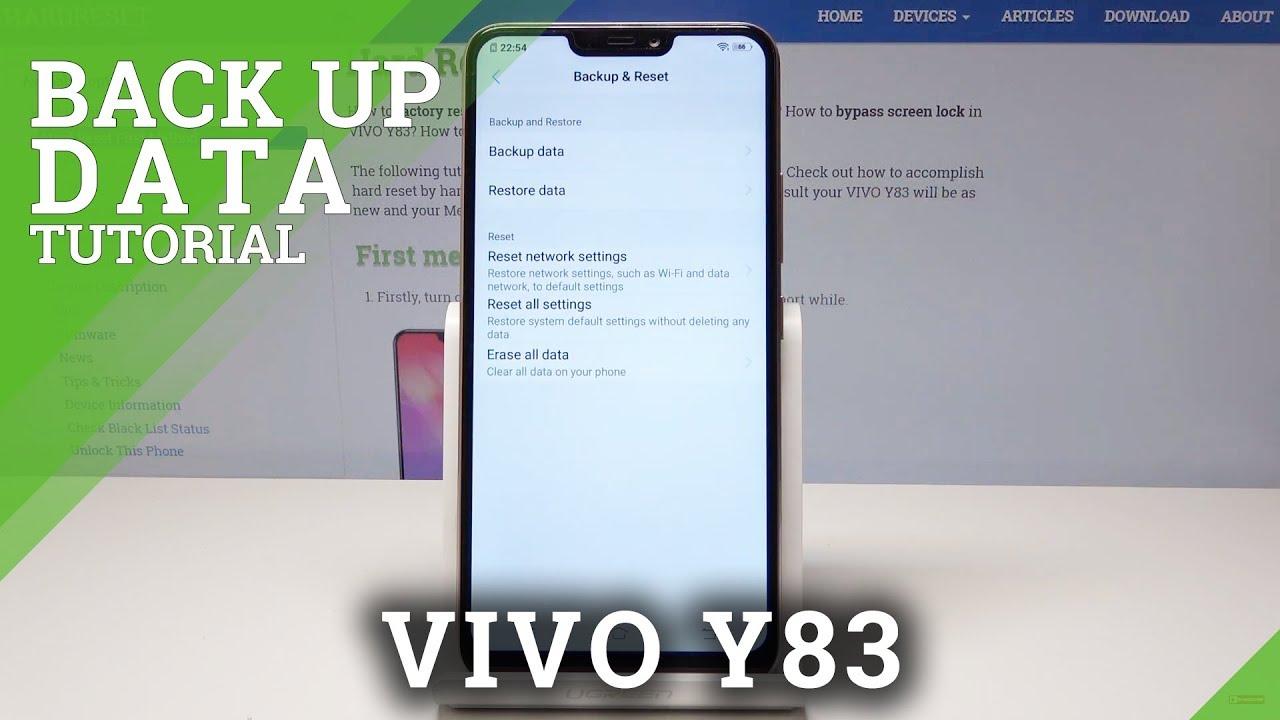 Hard Reset VIVO Y83 - HardReset info