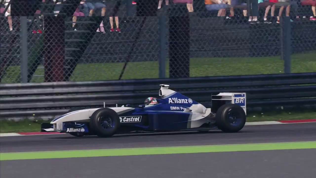 f1 2018 2003 williams fw25 at monza youtube. Black Bedroom Furniture Sets. Home Design Ideas