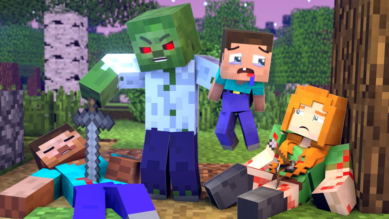 The minecraft life of Steve and Alex | Revenge | Minecraft animation