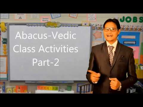 Abacus And Vedic Math Class Activity