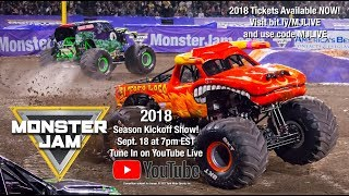 Monster Jam 2018 Season Kickoff Show