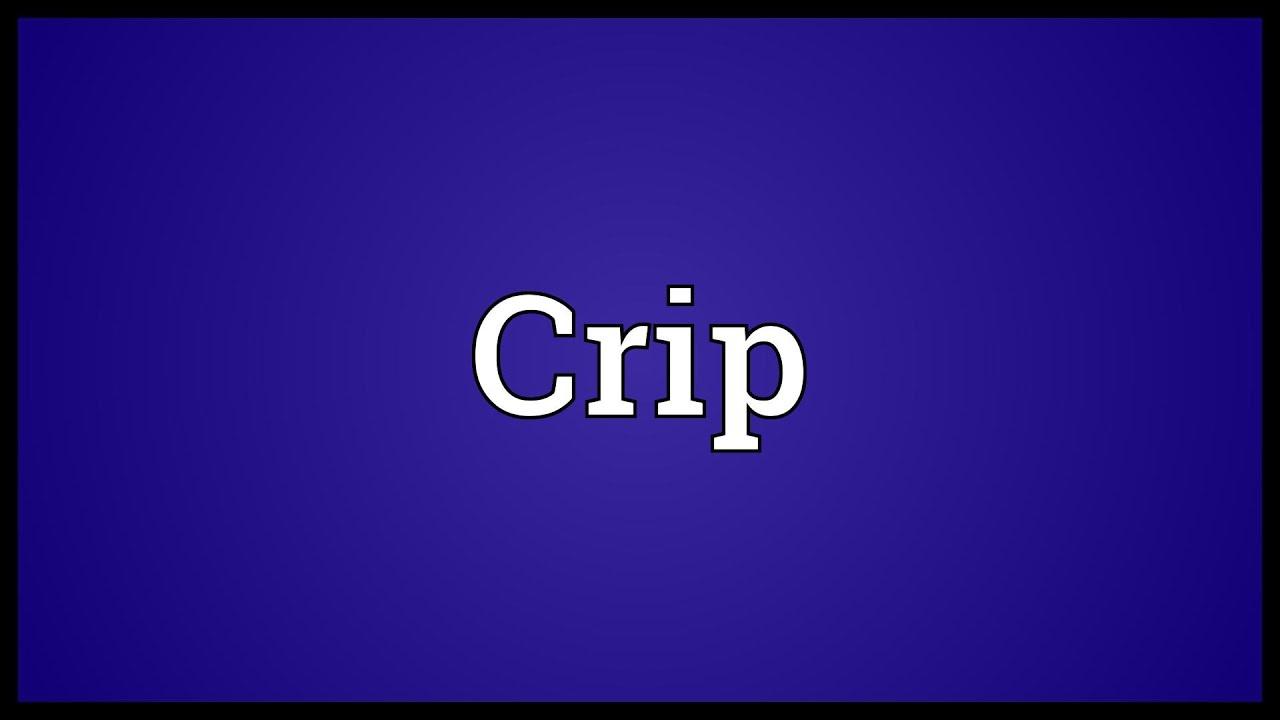 Crip Wallpaper
