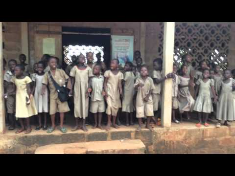 School kids at Togo