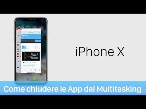 Come chiudere applicazioni su iPhone X - iPhone Italia