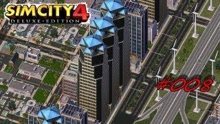 Let's Play SimCity 4 Deluxe #8 - Große neue Stadt pleite? [Deutsch/German/HD]