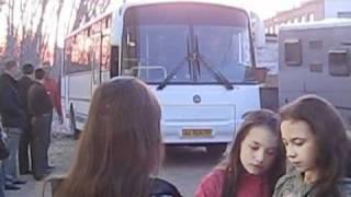 Уфа провожает МакSим на очередной концерт в Оренбурге