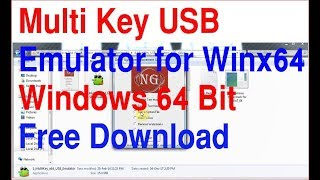 MultiKey USB for Win x64 | Multikey Install 64 Bit | Emulator | Multi Key