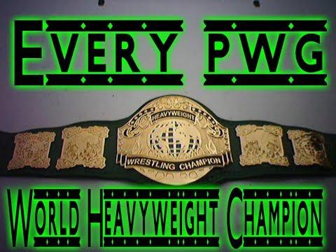 Every PWG World Heavyweight Champions (2003 2018)