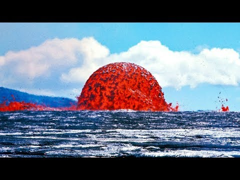 This happened in May 2018.  The mind-boggling volcanic eruption of Kilauea in the Hawaiian Islands!