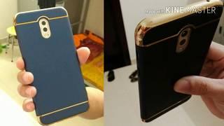 Đập hộp - Ốp lưng 3 mảnh cao cấp cho Samsung J7 Plus màu Xanh (Lazada)