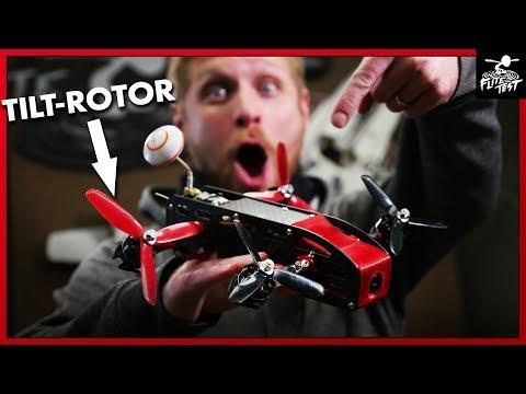 LEVEL FLYING QUAD - AimDroix Xray Tilt-Rotor   FLITE TEST