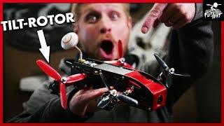 LEVEL FLYING QUAD - AimDroix Xray Tilt-Rotor | FLITE TEST