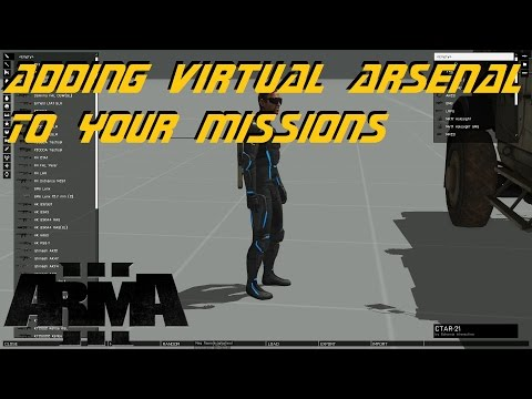 ARMA 3 Editor - Adding Virtual Arsenal to missions