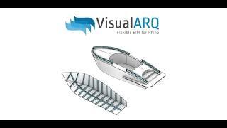 Marine Design in Rhino with VisualARQ BIM tools