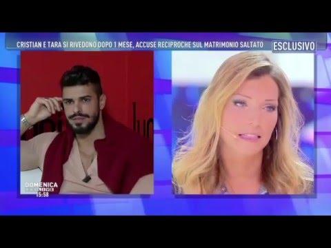 Tara E Cristian A Domenica Live Del 6 Dicembre 2015 Il