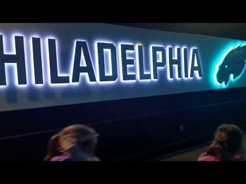 Eagles Lincoln Financial Field Tour: Eagles Field Entrance