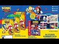 Sonic Mania plus unboxing+ a look at the Sonic Mania art book