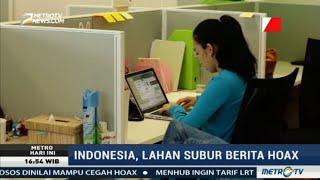 Indonesia Jadi Lahan Subur Berita Hoax