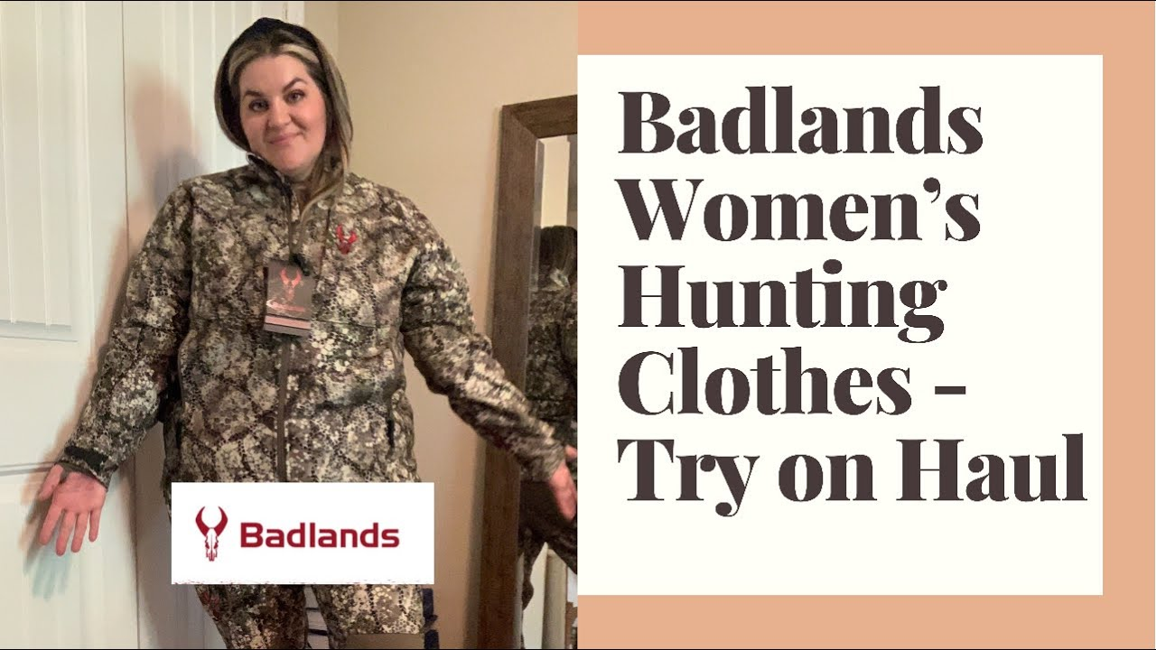 NEW! Badlands Hunting Clothes for Women -  Try on Tuesday