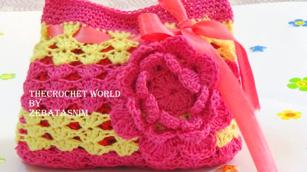 HOW TO MAKE CROCHET PURSE PART-2 - YouTube