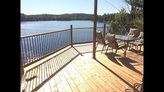 Chalet Petite Nation, Lac Simonet. Plus beau en vrai mais ça donne une idée! ;)