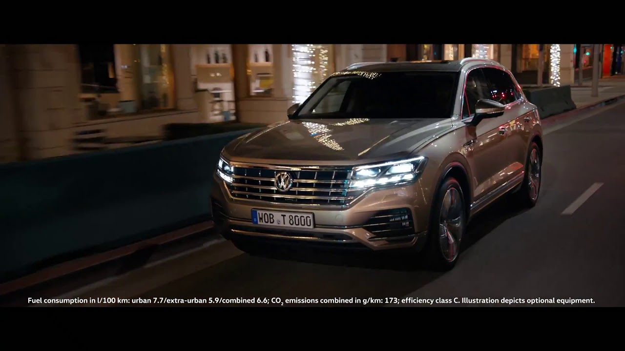 The 2018 New Volkswagen Touareg Prom Night Commercial Tv