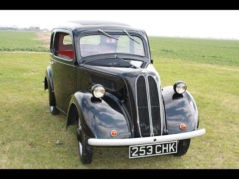 Ford Popular 103e Restoration