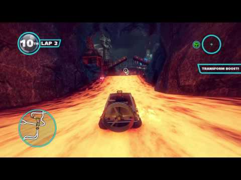 Knuckles Deep (Sonic All Stars Racing Transformed)
