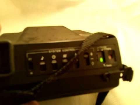 VINTAGE Polaroid Spectra System MB Instant Camera.MOV