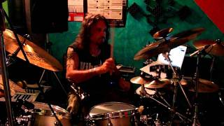 Gigi Morello Plays Drums over Matrix Soundtrack - Juno Reactor vs. Don Davis - Navras