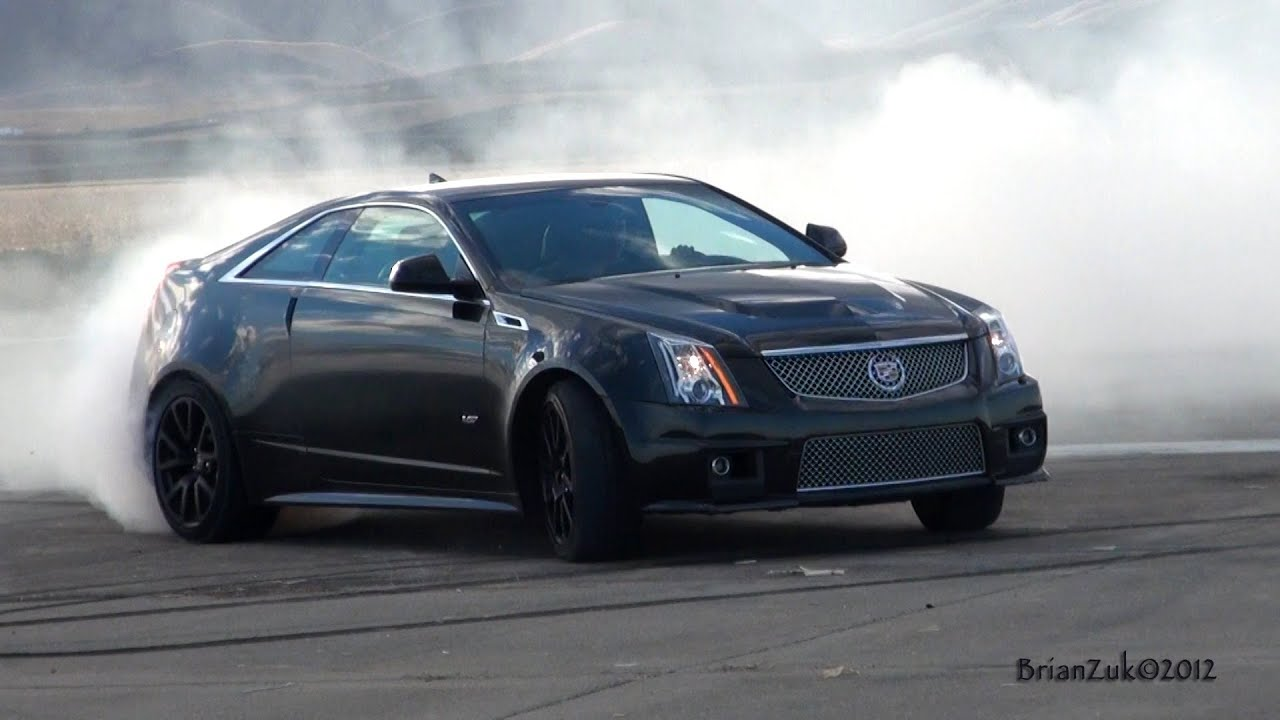 Cadillac Cts V Coupe Burnout