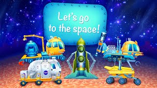Space mission app for kids Moon rover Rocket launching system Android İos Free Game GAMEPLAY VİDEO