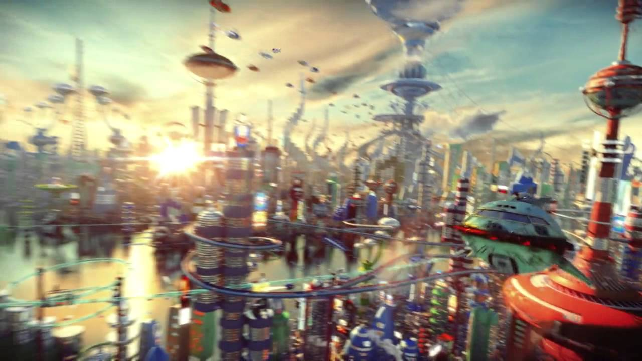 Wallpaper Planet 3d Futurama In Real Life Youtube