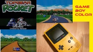 Top Gear Pocket on Game Boy Color. Played badly, with commentary.