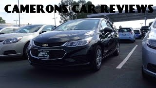 2016 Chevrolet Cruze LS 1.4 L 4-Cylinder Turbo Review | Camerons Car Reviews