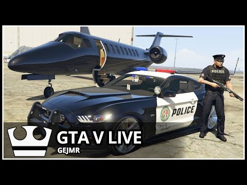 Jirka  hraje - GTA V Online - Policie [ LIVE ]