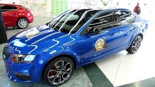 2014 Skoda Octavia RS - Exterior and Interior Walkaround - 2014 Geneva Motor Show