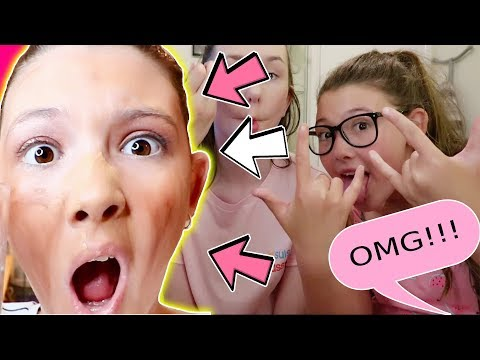 12 YEAR OLDS FIRST HIGH SCHOOL SLUMBER PARTY  - MAKEUP CHALLENGE!