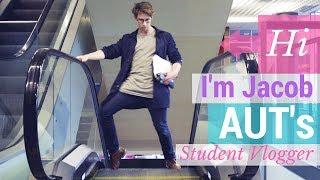 Meet Jacob - our new AUT student vlogger!