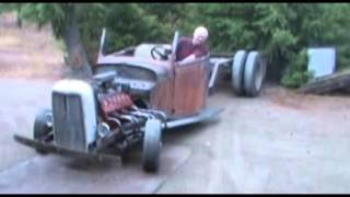 Flathead v12 (lincoln zephyr) Rat Rod Truck.mpg