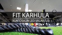 Fit Karhula -kuntosali | nykyaikainen valaistus vie treenin uudelle tasolle